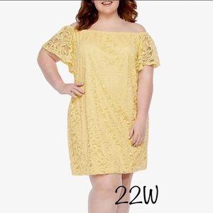 New Tiana B. Lace Dress Size 22W